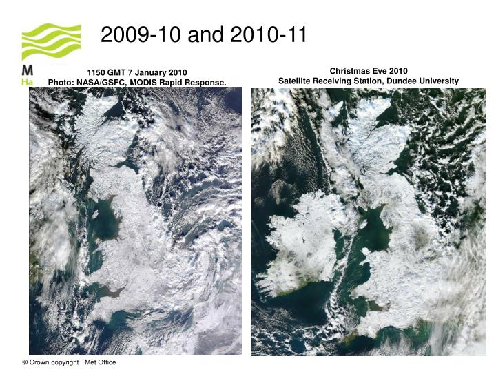 2009-10 and 2010-11