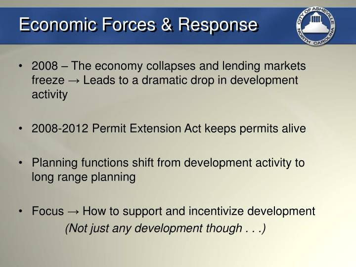 Economic Forces & Response