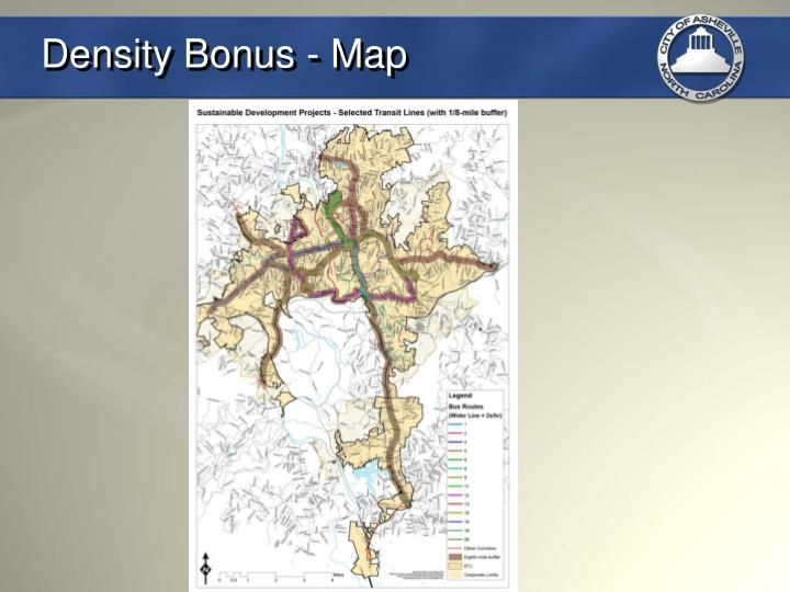 Density Bonus - Map