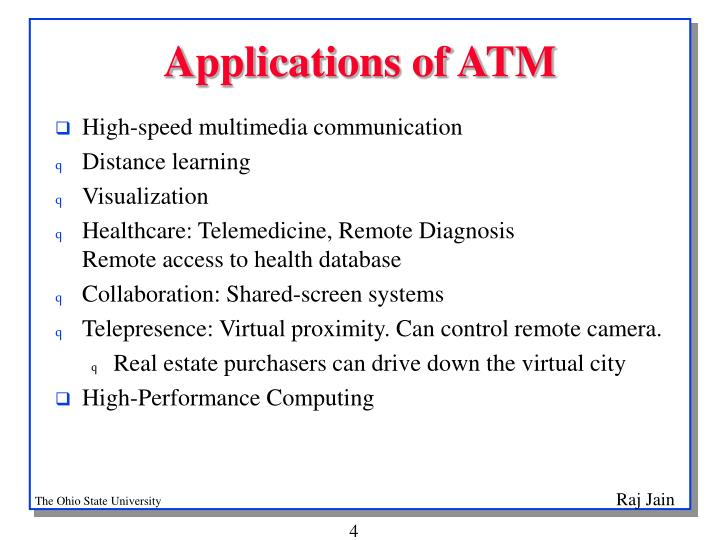 Applications of ATM