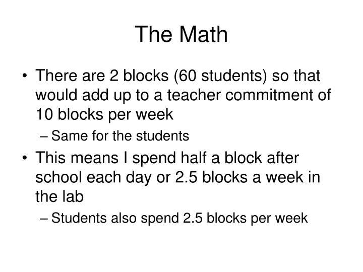 The Math