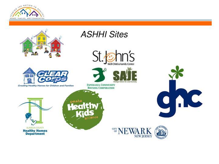 ASHHI Sites