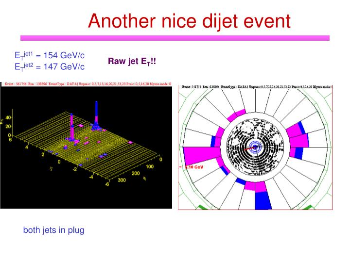 Another nice dijet event