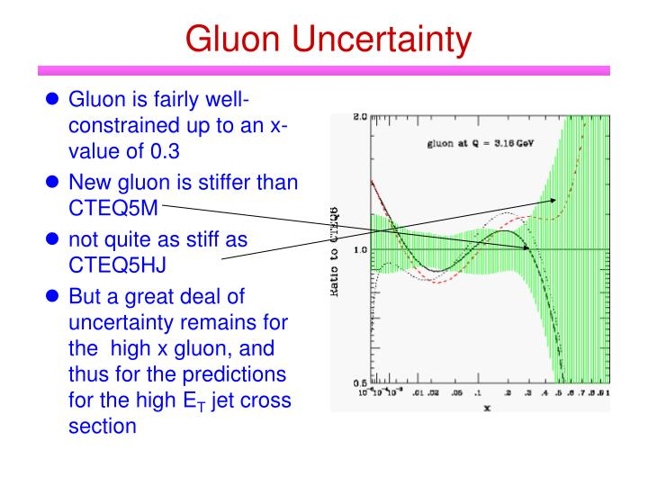 Gluon Uncertainty