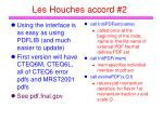 les houches accord 2