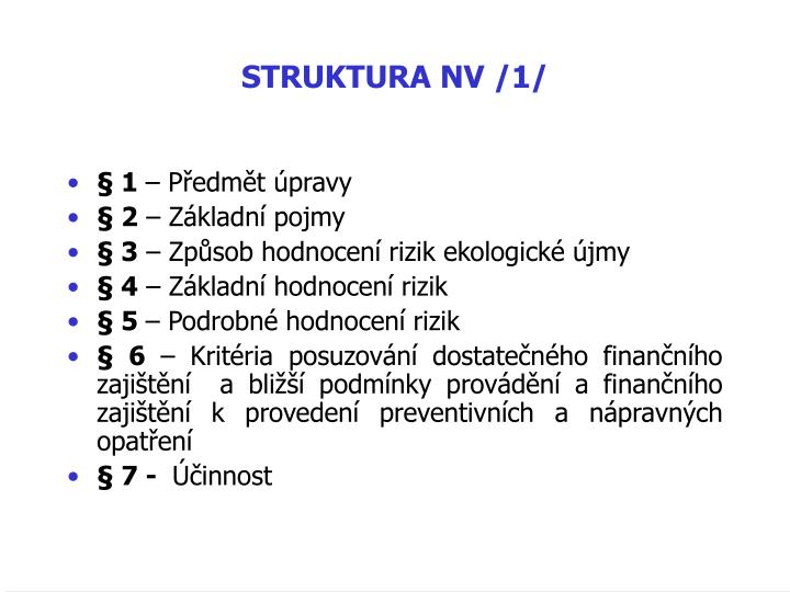 STRUKTURA NV /1/