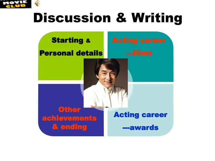 Discussion & Writing
