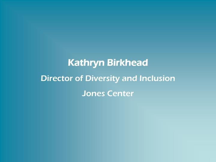 Kathryn Birkhead