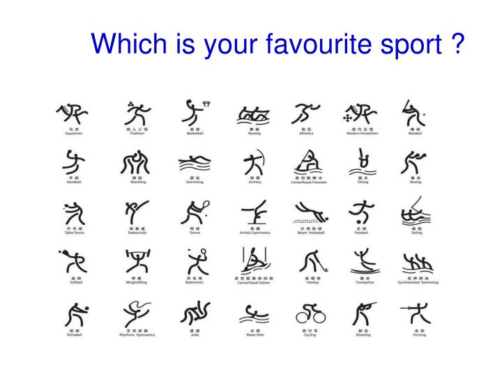 Which is your favourite sport ?