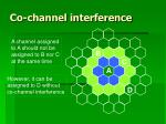 co channel interference