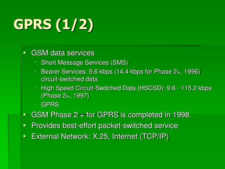 GPRS (1/2)