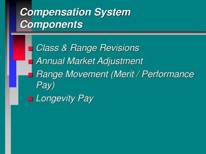 Compensation System Components