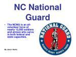 nc national guard