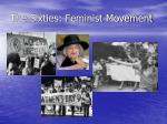the sixties feminist movement1