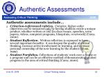 authentic assessments1
