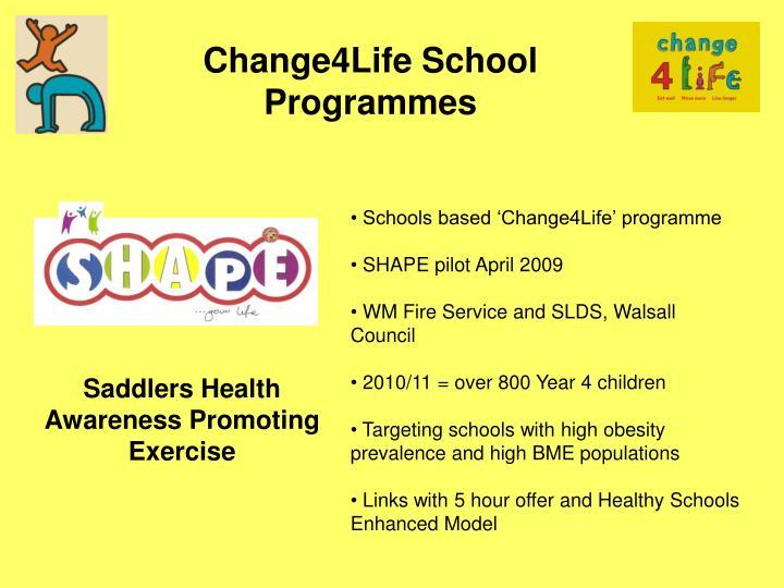 Change4Life School Programmes