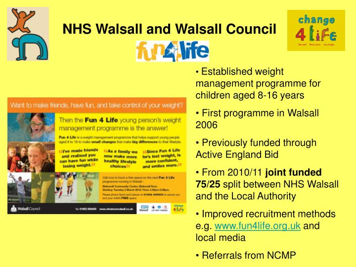 NHS Walsall and Walsall Council