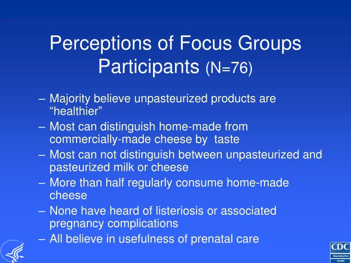 Perceptions of Focus Groups Participants