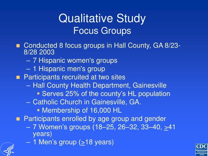 Qualitative Study