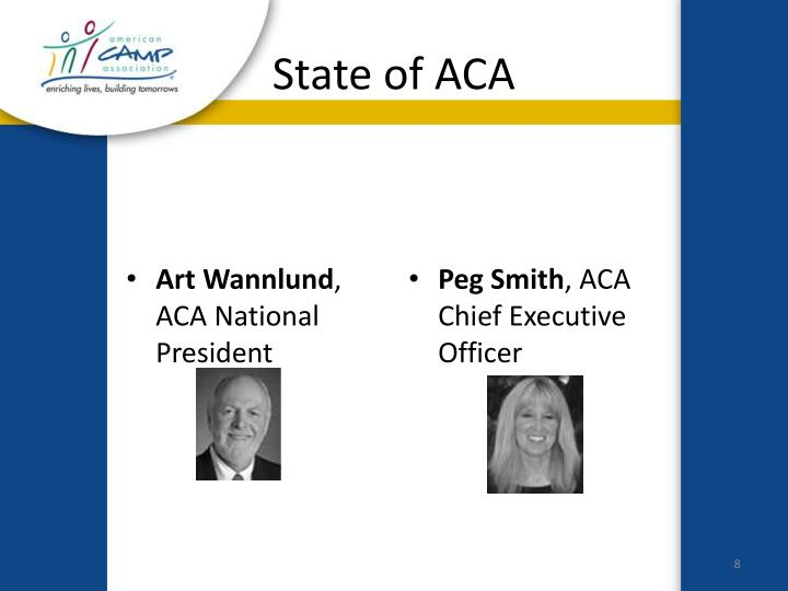 State of ACA