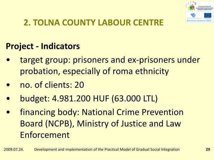 2. TOLNA COUNTY LABOUR CENTRE