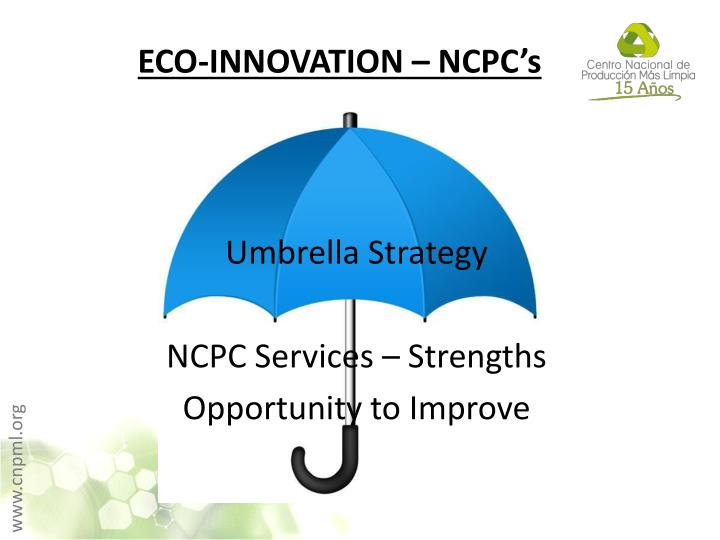 ECO-INNOVATION – NCPC's
