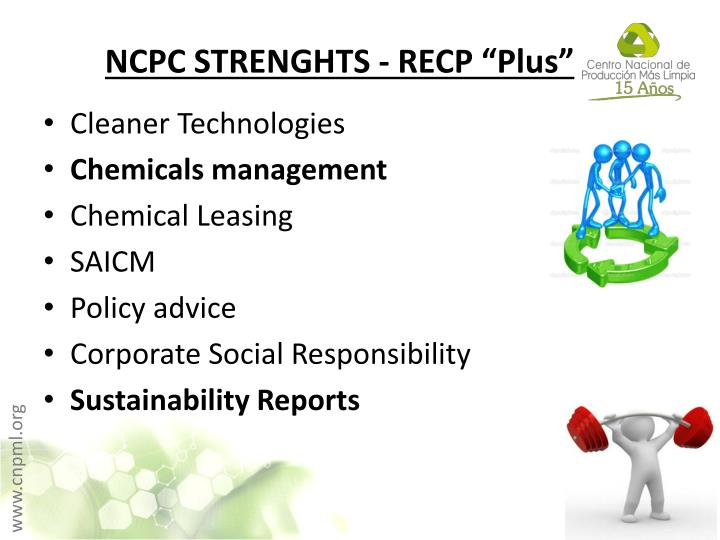"NCPC STRENGHTS - RECP ""Plus"""