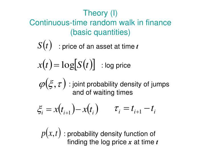 Theory (I)