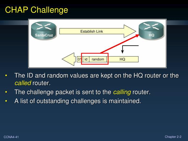 CHAP Challenge
