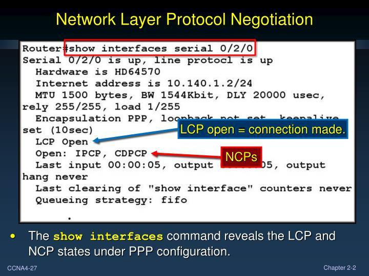 Network Layer Protocol Negotiation