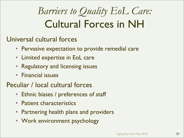 Ppt transforming end of life care in skilled nursing