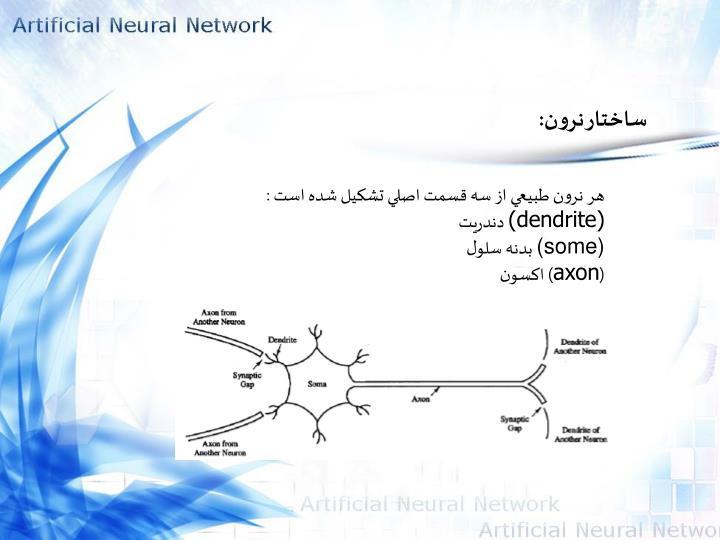 ساختار نرون: