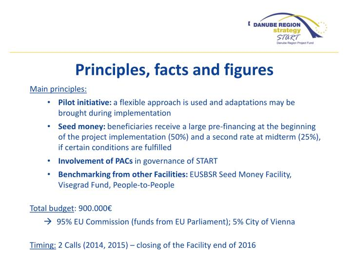 Main principles: