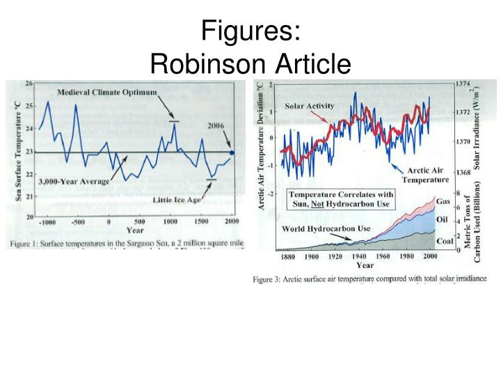 Figures robinson article