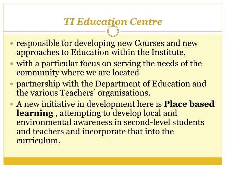TI Education Centre