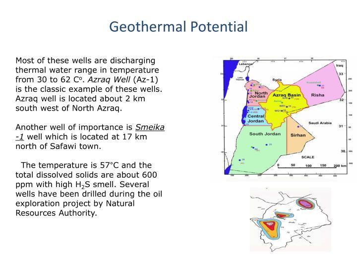 Geothermal Potential