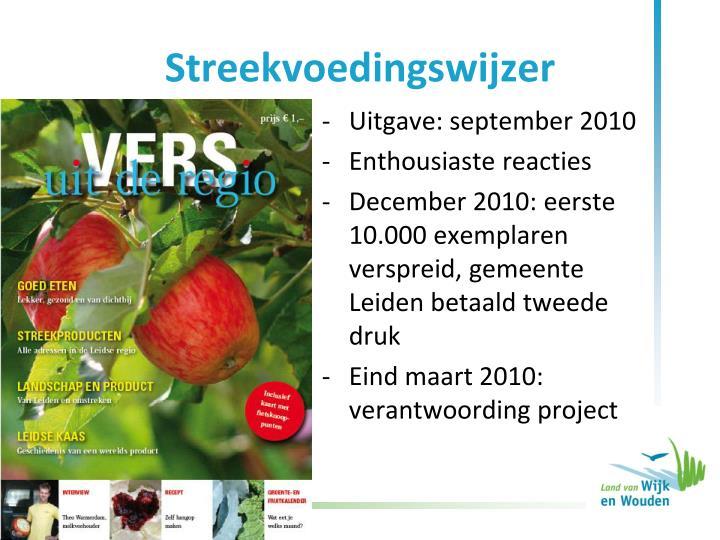 Uitgave: september 2010