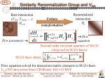 similarity renormalization group and v nn