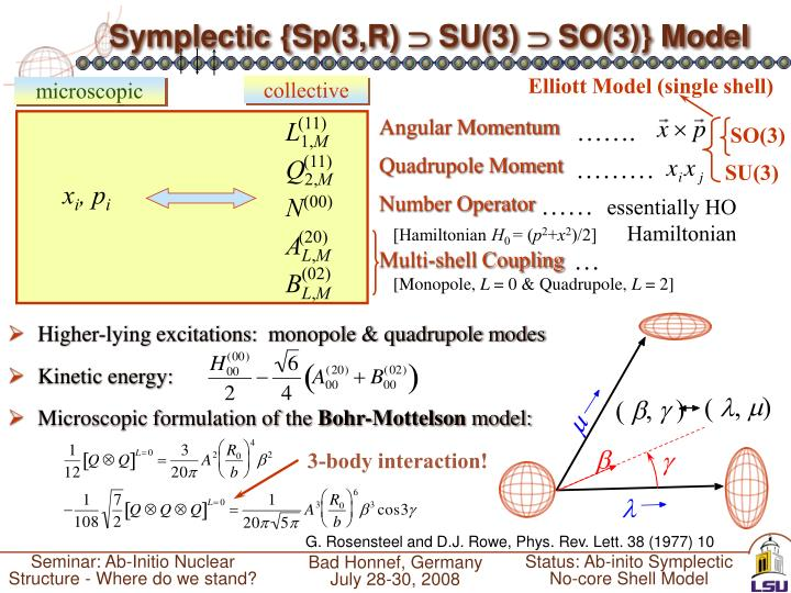 Symplectic {Sp(3,R)
