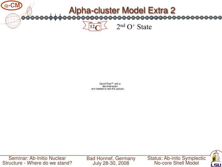 Alpha-cluster Model Extra 2