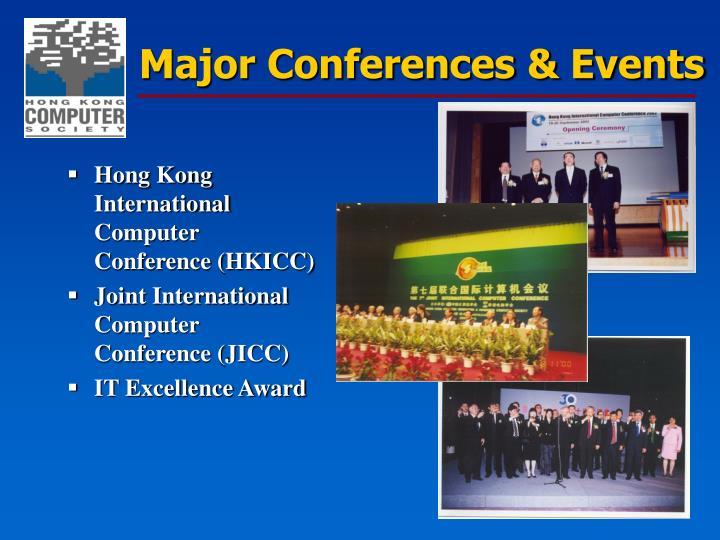 Major Conferences & Events