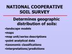 national cooperative soil survey