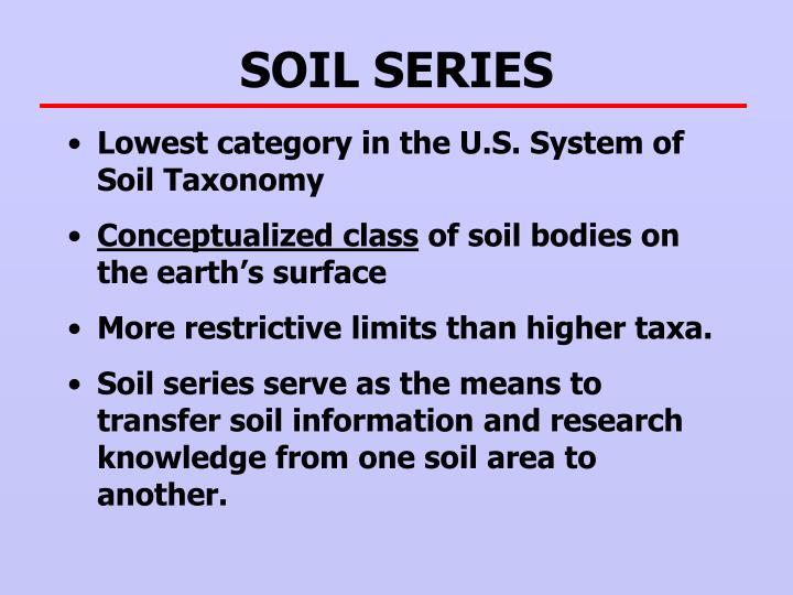 SOIL SERIES