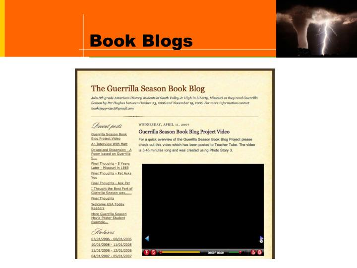 Book Blogs