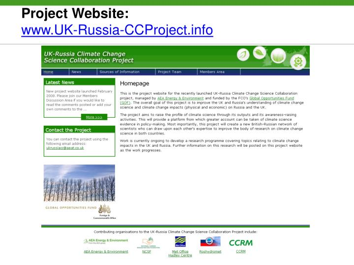 Project Website: