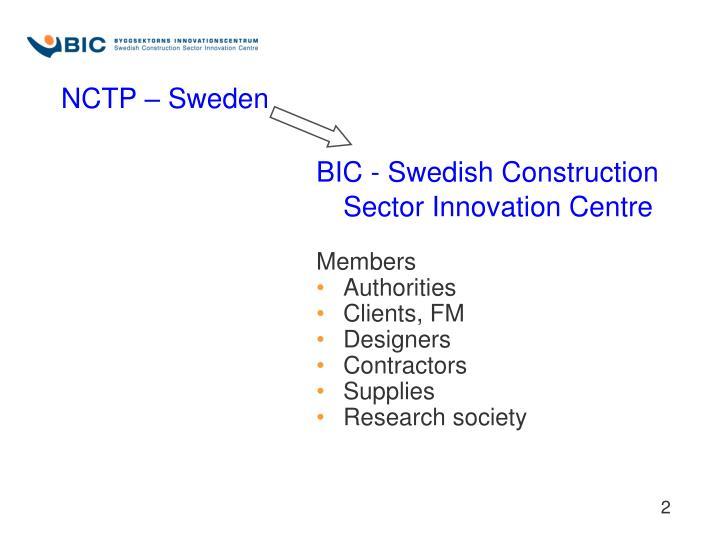 NCTP – Sweden