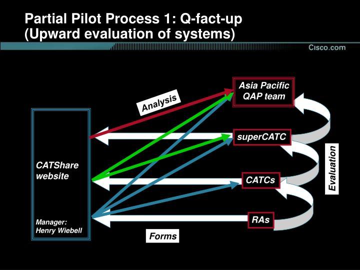 Partial Pilot Process 1: Q-fact-up