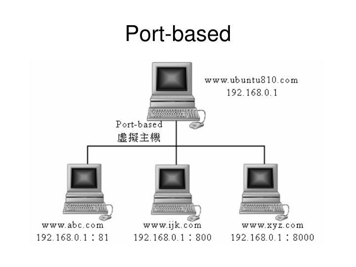 Port-based