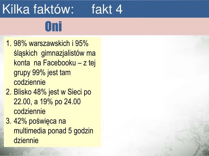 Kilka faktów:     fakt 4