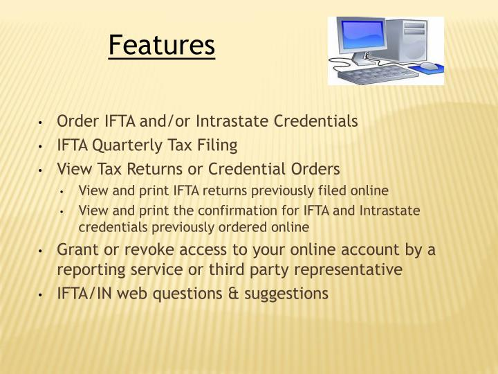 Order IFTA and/or Intrastate Credentials
